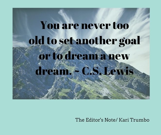 Kari Trumbo CS Lewis Quote