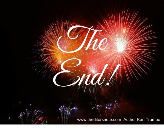 The End! Kari Trumbo
