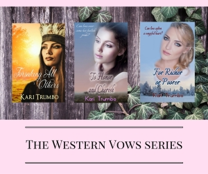 The Western Vows series Kari Trumbo