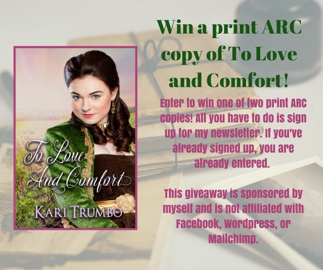 Kari Trumbo To Love and Comfort