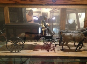 Horse drawn hearse Kari Trumbo
