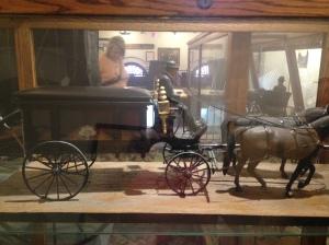 Horse drawn hearse Kari Trumbo